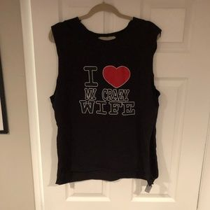 Other - 5 for $20 -  I love my crazy wife muscle tee